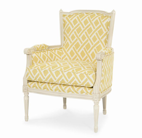 Century Furniture - Italian Bergere Chair - 3296