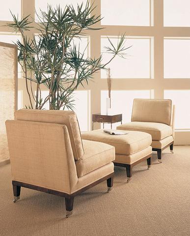Century Furniture - Statewood Ottoman - 33-104