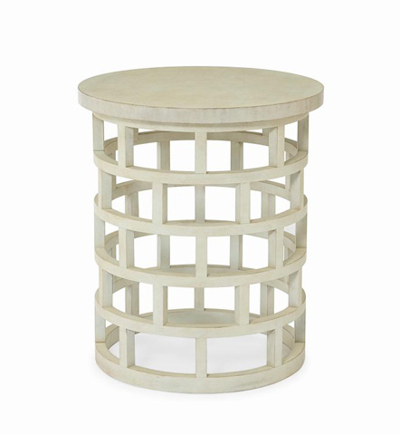 Century Furniture - Round Chairside Table - 819-625