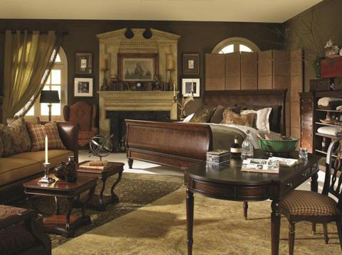 Century Furniture - Westbourne Sleigh Bed - 369-167
