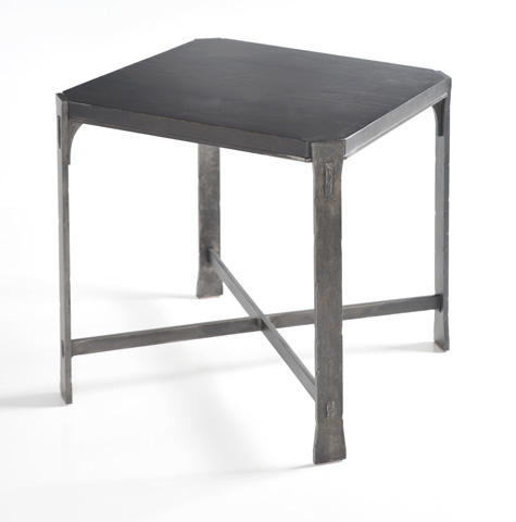 Charleston Forge - Woodland Square End Table - 6274