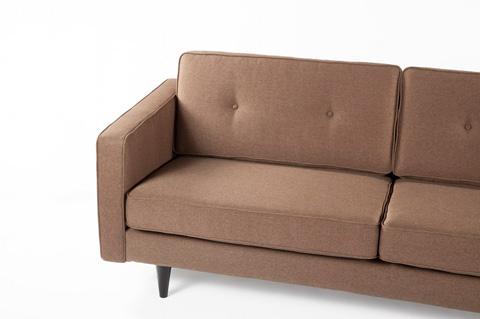 Control Brand - The Parma Sofa - FAS1103BROWN