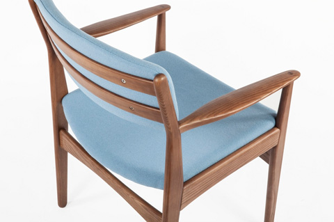 Control Brand - The Tiset Arm Chair - FEC9119LBLUE