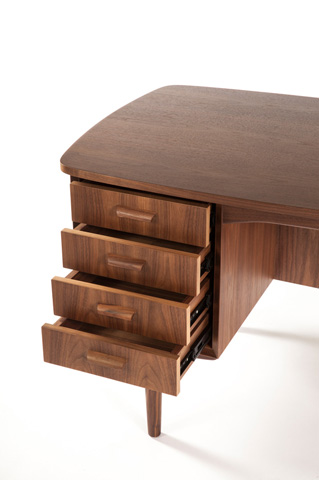 Control Brand - The Thatcher Desk - FET2539WALNUT