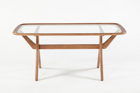 Control Brand - The Geleen Table - FET3439WALNUT