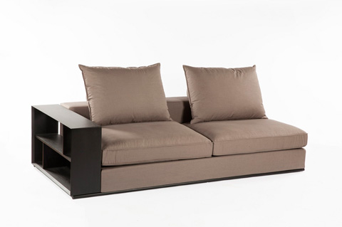 Control Brand - The Collegno Sectional - FQS002GREY
