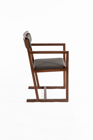 Control Brand - The Bogen Arm Chair - FSC003DGREY
