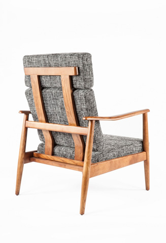 Control Brand - The Aalborg High Back Chair - FYC939FTWBLK