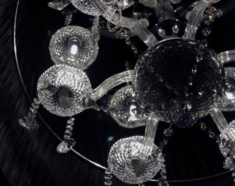 Control Brand - The Mystery Satin Crystal Chandelier - US60