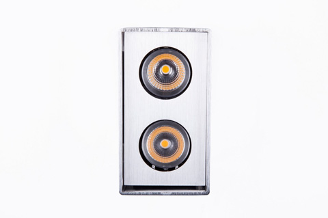 Control Brand - The Jupiter Double Spotlight - LS0092S