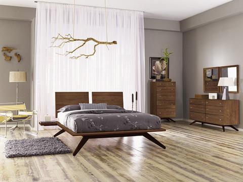 Copeland Furniture - Astrid 6 Drawer Dresser - Walnut - 2-AST-60-14