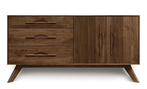 Copeland Furniture - Audrey 2 Door Buffet - Cherry - 6-AUD-52