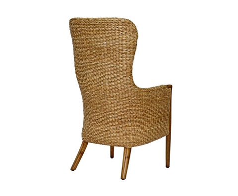 Curate by Artistica Metal Design - Seagrass Winged Arm Chair - C403-015