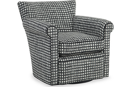 C.R. Laine Furniture - Philippe Swivel Chair - 1265-SW