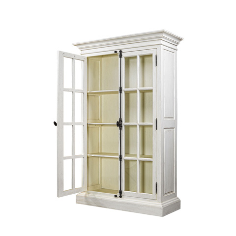Curations Limited - Old Casemen Vintage White Cabinet - 8810.2003