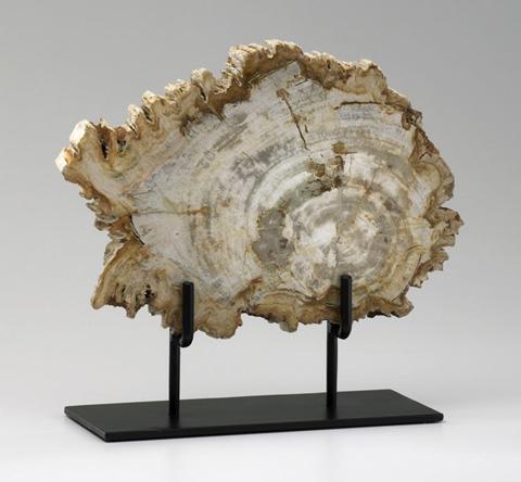 Cyan Designs - Medium Petrified Wood on Stand - 02599