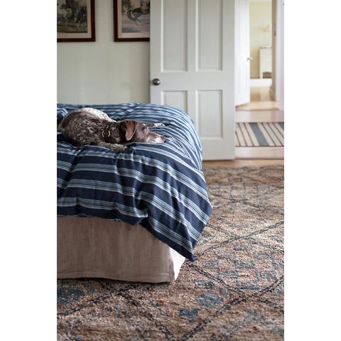 Dash & Albert Rug Company - Lenox Seaglass Wool Woven 8x10 Rug - RDA302-810