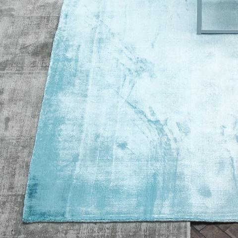 Designers Guild - Eberson Aqua Standard Rug - DHRDG0009