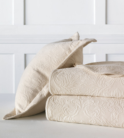 Eastern Accents - Sandrine Ecru Decorative Pillow - DPA-328