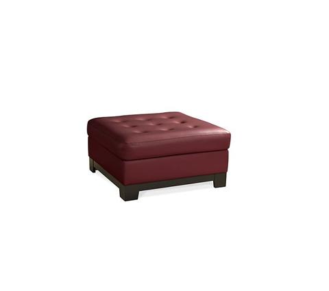 Elite Leather Company - Century City Ottoman - 22000-O