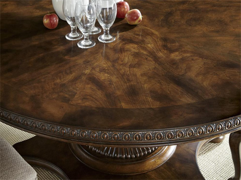 Fine Furniture Design - Balustrade Round Dining Table - 1344-810/811