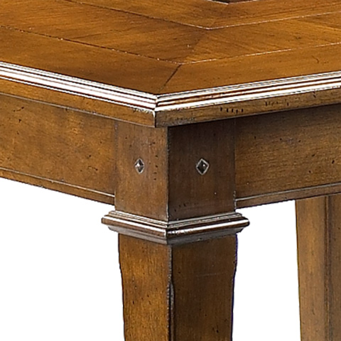 French Heritage - Gustave Square Dining Game Table - A-2320-402-ANT