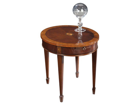 Hekman Furniture - Copley Place Oval Lamp Table - 2-2502