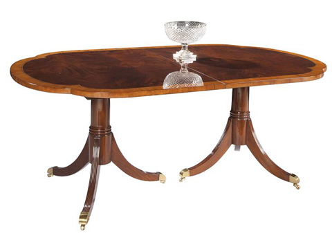 Hekman Furniture - Copley Place Double Pedestal Dining Table - 2-2520