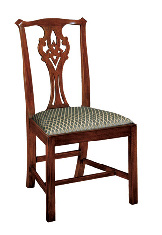 Henkel-Harris - Chippendale Side Chair - 102S