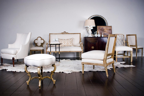 Hickory Chair - Anastasia Bench - 1612-30