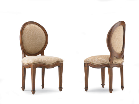 Hickory White - Round Back Side Chair - 171-62