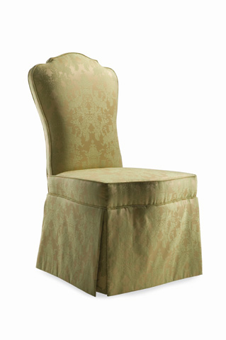 Hickory White - Upholstered Side Chair with Skirt - 230