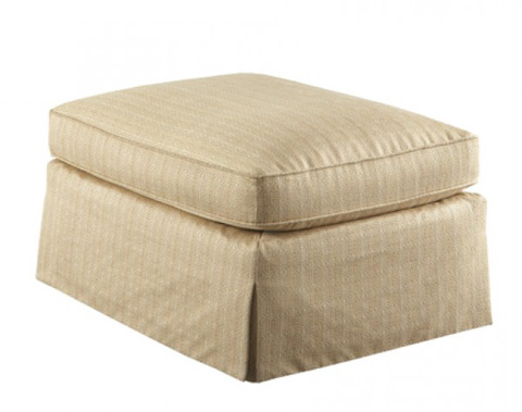 Hickory White - Club Chair with Skirt - 4859-01