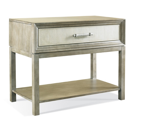Hickory White - Greg Single Drawer Side Table - 107S
