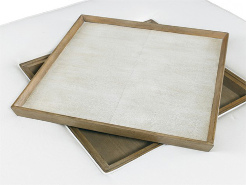 Hickory White - Westwood Cocktail Ottoman with Tray - 901-13