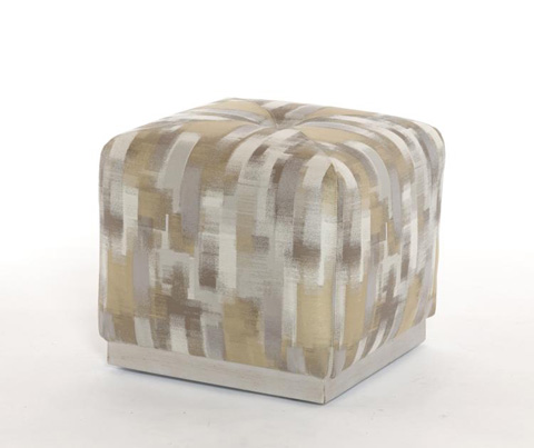 Highland House - Hip to Be Square Ottoman - CA6055-18