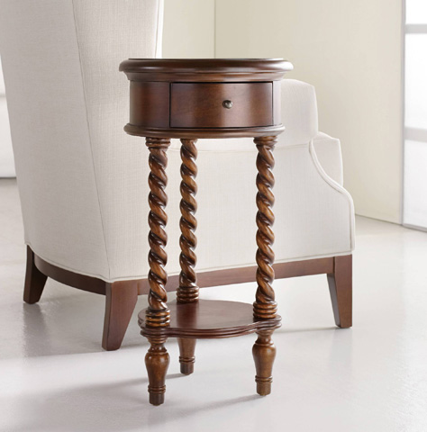 Hooker Furniture - Inlay Top Round Accent Table - 500-50-702