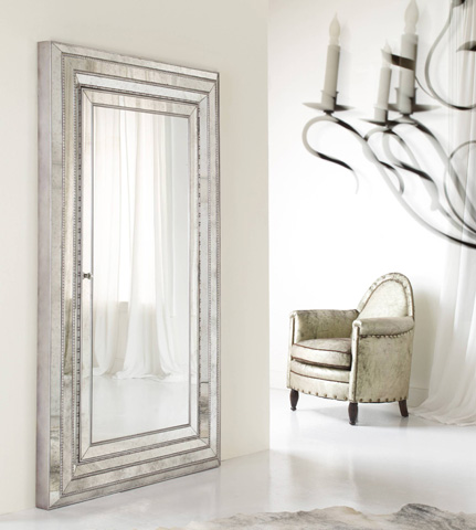 Hooker Furniture - Melange Glamour Floor Mirror - 638-50012