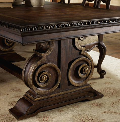Hooker Furniture - Adagio Rectangle Dining Table - 5091-75207