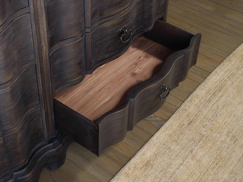 Hooker Furniture - Corsica Dark Eight Drawer Dresser - 5280-90002