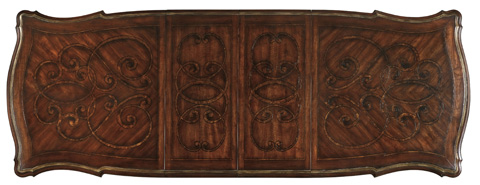 Hooker Furniture - Pedestal Dining Table with Leaves - 5272-75206