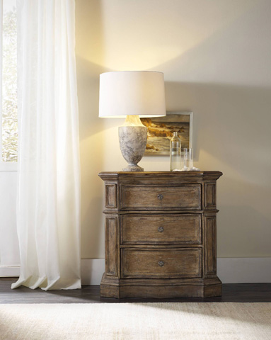 Hooker Furniture - Three Drawer Nightstand - 5291-90016