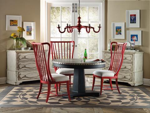 Hooker Furniture - Sanctuary Brighton Aluminum Dining Table - 5402-75203