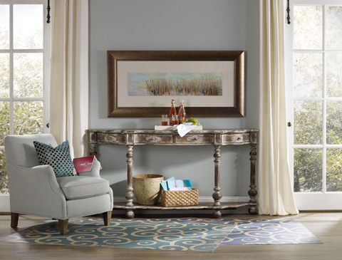 Hooker Furniture - Sanctuary Brighton Four Drawer Console Table - 5408-85001