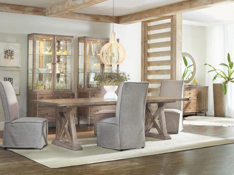 Hooker Furniture - Geo Trestle Dining Table - 5382-75207