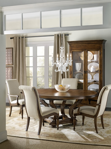 Hooker Furniture - Archivist Round Dining Table - 5447-75203
