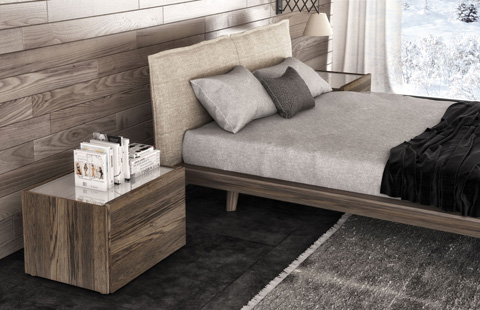 Huppe - Night Stand with 2 Drawers - 06444V