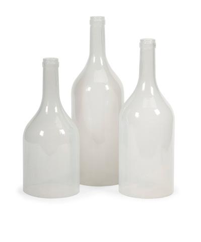 IMAX Worldwide Home - Monteith Cloche Bottles - Set of 3 - 97403-3