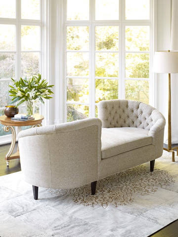 Jessica Charles - Chatterly Tete-A-Tete Sofa - 343
