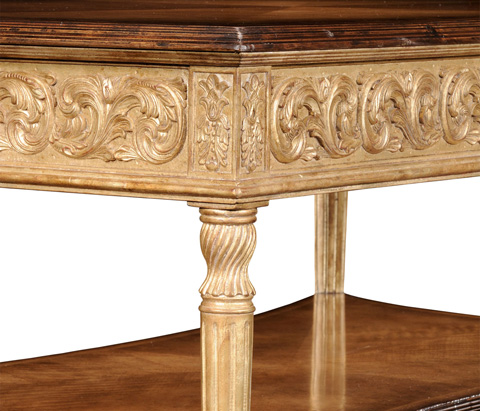 Jonathan Charles - Louis XIV Style Rectangular Coffee Table - 494127